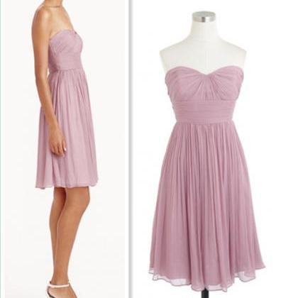 Bridesmaid Dresses, Sweetheart Brid..