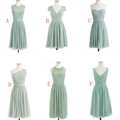New Fashion Bridesmaid Dresses, Kne..