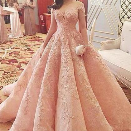 Sparkly Gorgeous Long A-line Prom D..