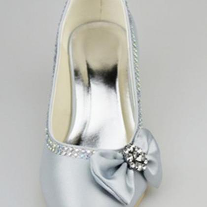 Silver Shoes,Simple Style Shoes,Low..