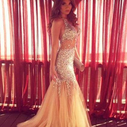 Sparkly Prom Dresses,Long Prom Dres..