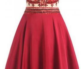 Red Homecoming Dress..