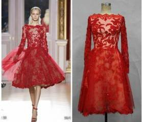 Hot Red Prom Dress,S..
