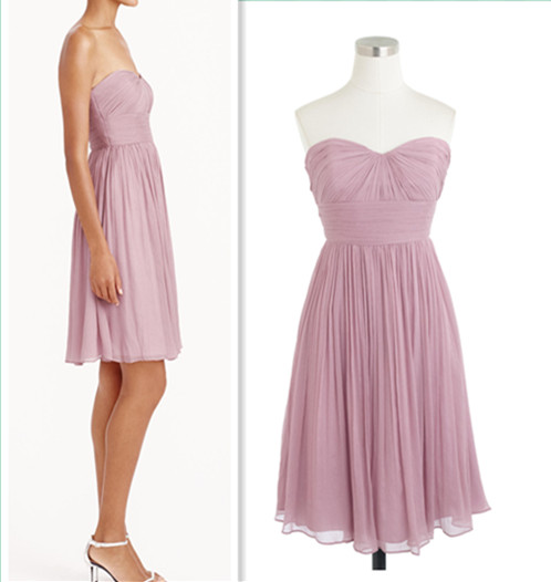 Bridesmaid Dresses, Sweetheart Bridesmaid Dresses, Chiffon Bridesmaid Dress, Dresses For Wedding