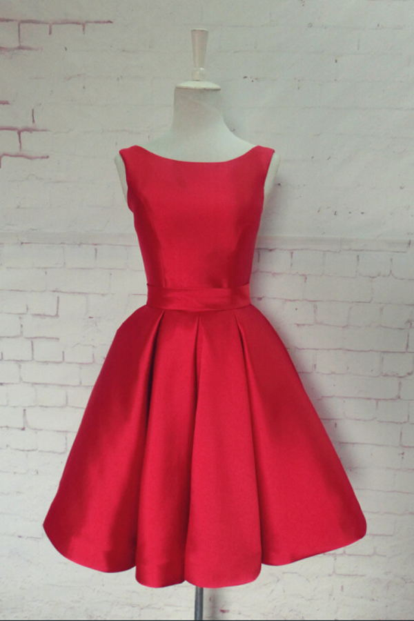 Charming Light Red Homecoming Dresses For Teens,Handmade Homecoming Dresses,Sexy Homecoming Dress