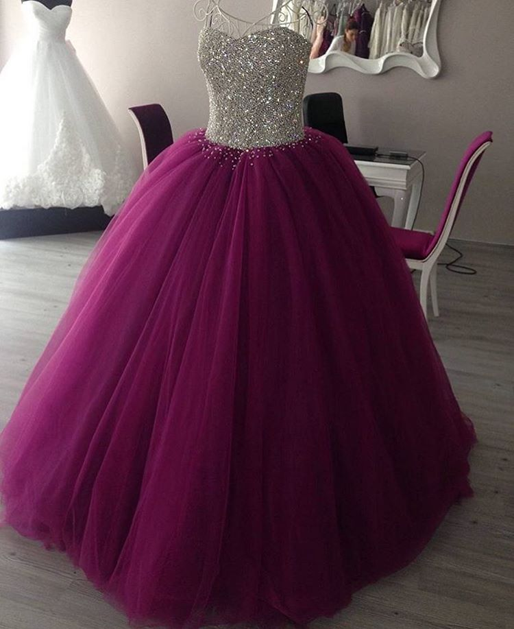 9c31688b267 Sweetheart Ball Gown Prom Dresses