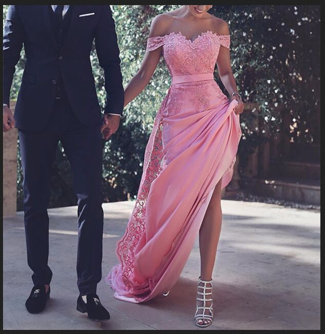 Pink Prom Dress, Off Shoulder Prom Dresses,Long Prom Dresses,Long Prom Dresses,Lace Prom Dress,Prom Dresses For Teens,Evening Dresses,Party Dresses,Elegant Prom Gowns,Cute Dresses,Modest Evening Gowns