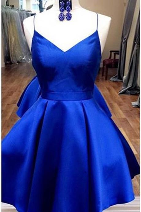 Royal Blue Homecoming Dresses,Short Homecoming Dress,Cute Dresses,Fashion Homecoming Dresses DR0354
