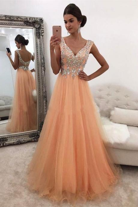 Orange Prom Dresses on Luulla
