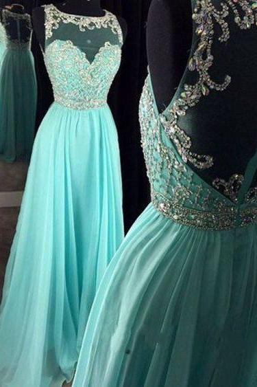 Real Beautiful Long Chiffon Prom Dresses,Pretty High Low Prom Gowns,Zipper Back Evening Dresses DR0386