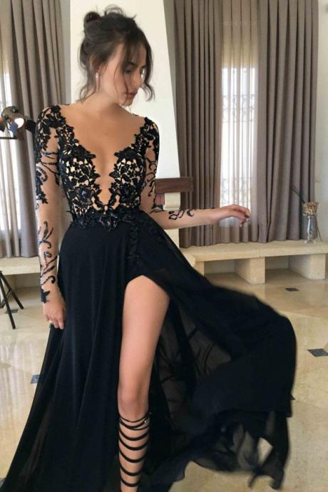 Long Sleeves Prom Dresses,Black Prom Dresses,Chiffon Prom Dresses,Lace Prom Dresses,Modest Prom Dresses,Prom Dresses For Teens,Plus Size Prom Dresses,Simple Cheap Prom Dresses,Evening Dresses,Party Dresses,Black Dresses