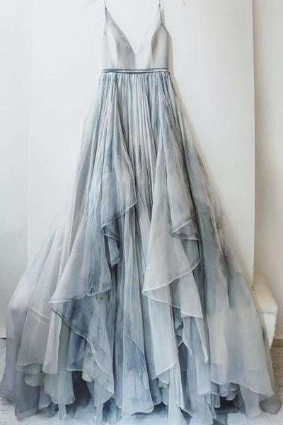 Beautiful Prom Dresses,Chiffon Prom Dresses,Backless Prom Dresses,Elegant Prom Dresses,Charming Prom Dresses,Long Prom Dresses,V-neck Prom Dresses,Simple Cheap Prom Dresses,Evening Dresses