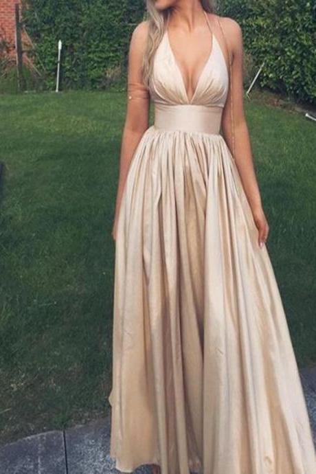 High Low Prom Dresses,Simple Prom Dresses,Cheap Plus Size Prom Dresses,V-neck Prom Gowns,Long Prom Dresses For Teens,Evening Dresses,Party Dresses DR0462