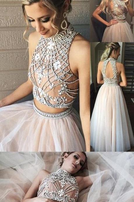 Newest Prom Dresses,Evening Dresses,Two Pieces Prom Dresses,Long Prom Dresses,Sparkly Prom Dresses,Modest Prom Gowns,Prom Dress 2017
